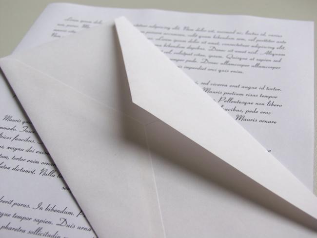 Cartas de amor para namorado à distância