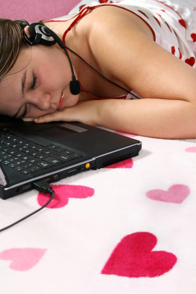 Namoro virtual na adolescência