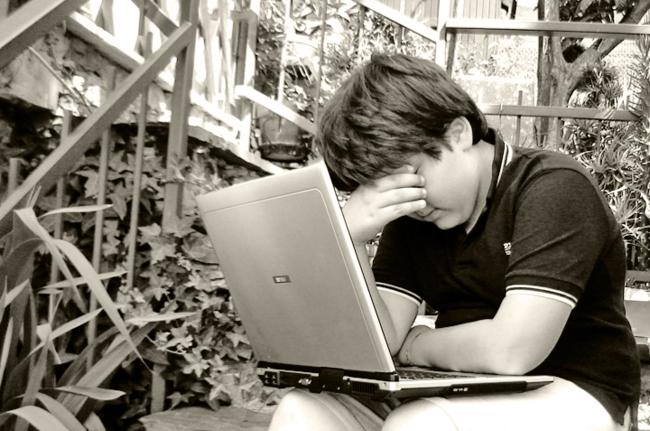 Cuidado com o cyberbullying