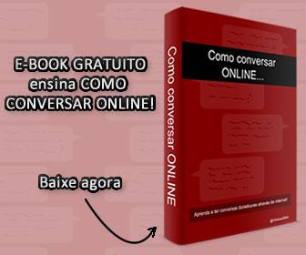 Como conversar ONLINE (e-book grátis)