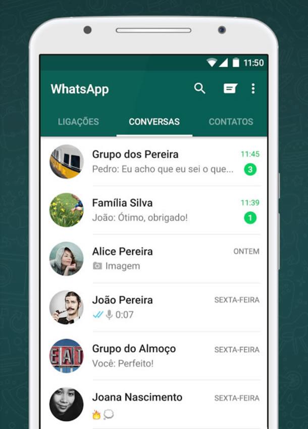 Como adicionar alguém no WhatsApp?